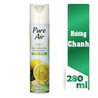 Xịt phòng khử mùi Pure Air hương Chanh 280ml
