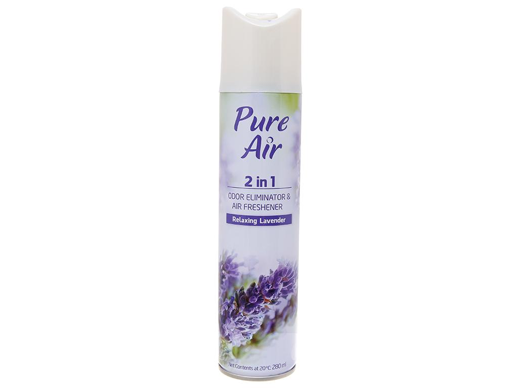 Xịt phòng Pure Air hương lavender 280ml 2