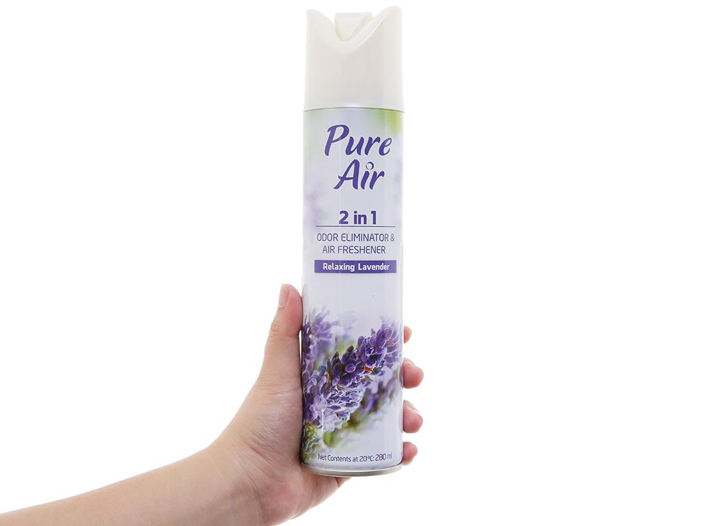 Xịt phòng Pure Air hương lavender 280ml 5