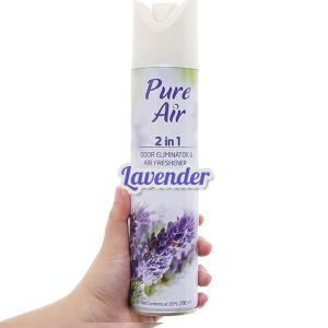 Xịt phòng Pure Air hương Lavender 280ml
