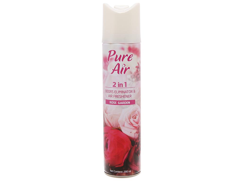 Xịt phòng Pure Air hương hoa hồng say đắm 280ml 2