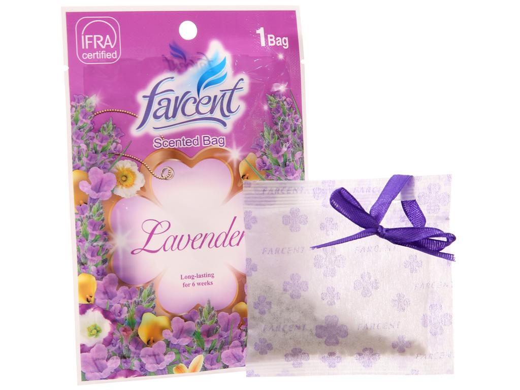 Túi thơm Farcent hương hoa oải hương 10g 1