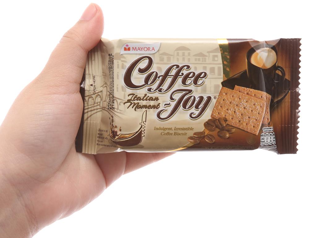 Bánh quy vị cà phê Coffee Joy hộp 360g 5