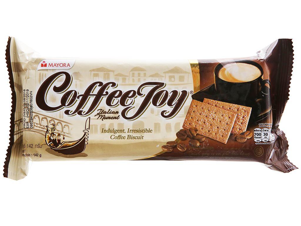 Bánh quy vị cà phê Coffee Joy gói 142g 1