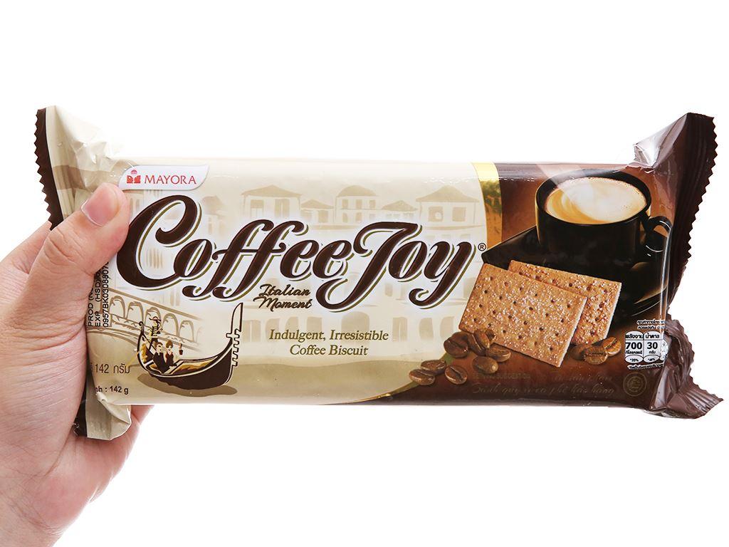 Bánh quy vị cà phê Coffee Joy gói 142g 4