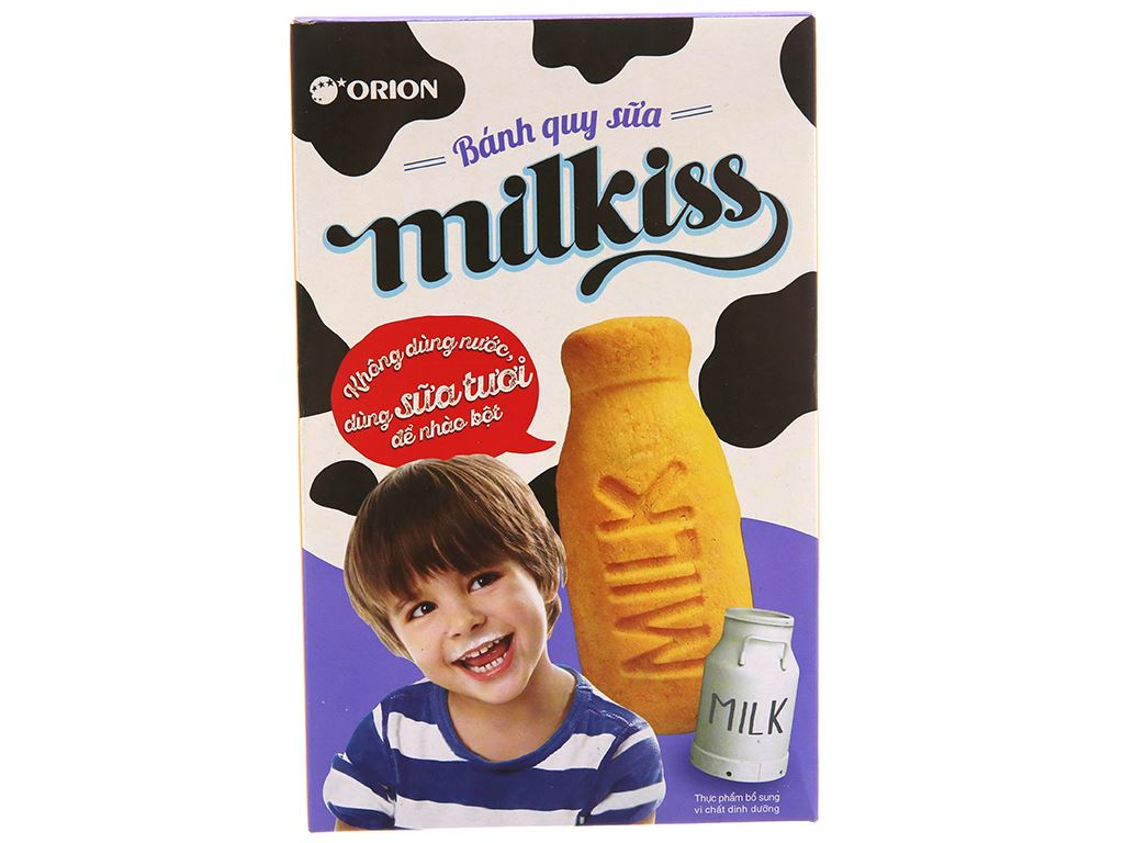 Bánh quy sữa Orion Milkiss hộp 60g 2