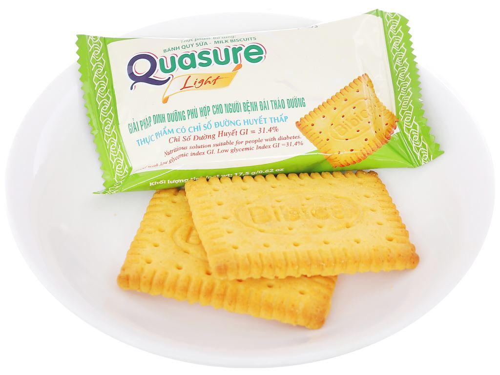 Bánh quy sữa cho người tiểu đường Quasure Light hộp 140g 5