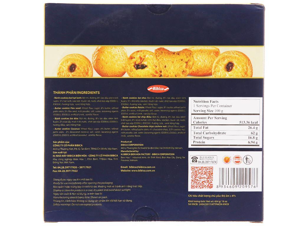 Bánh quy bơ hỗn hợp cao cấp Goody hộp 454g 2