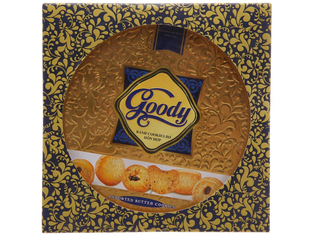 Bánh quy bơ hỗn hợp Goody Cao cấp hộp 454g 2