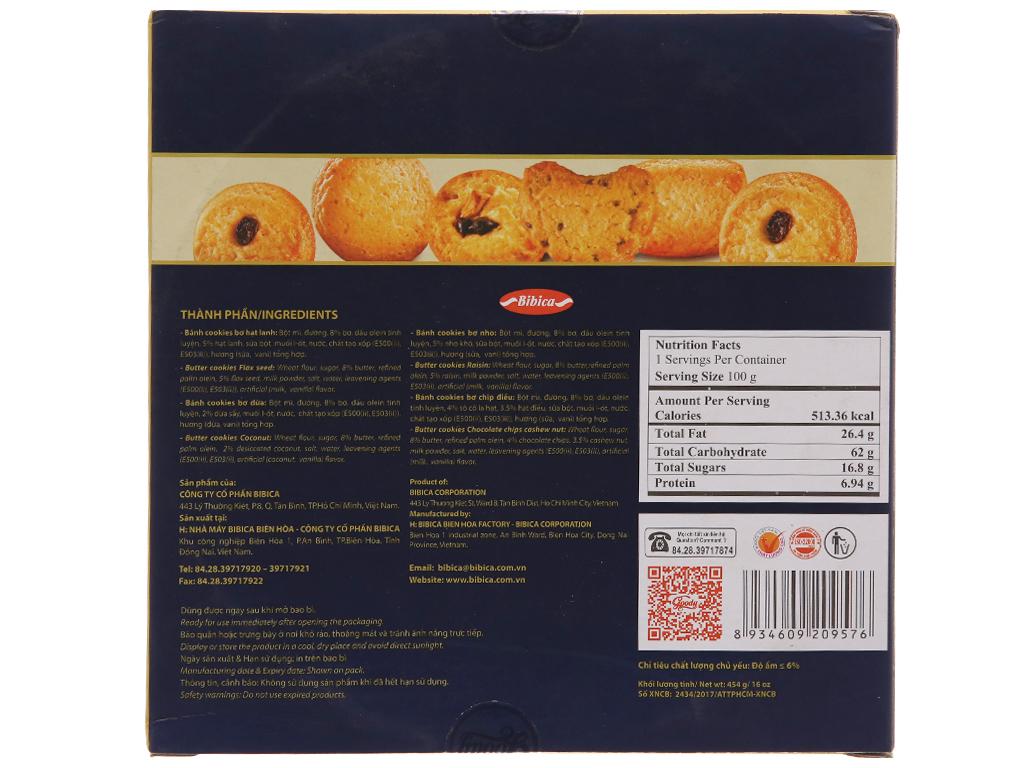 Bánh quy bơ hỗn hợp Goody Cao cấp hộp 454g 3
