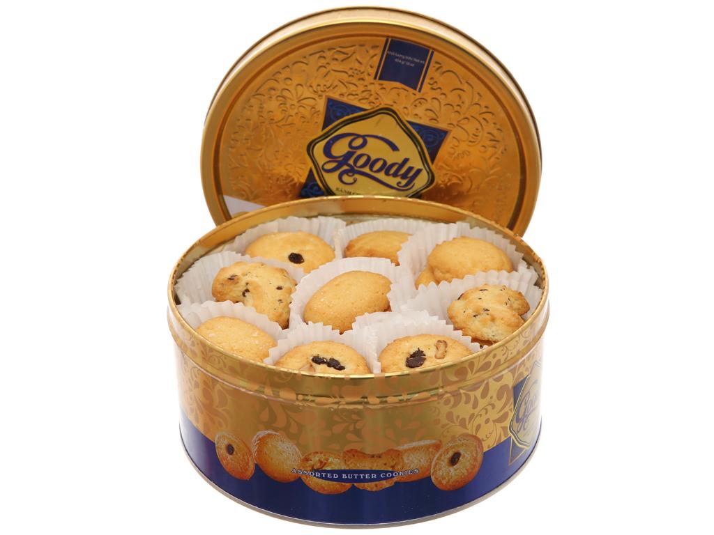 Bánh quy bơ hỗn hợp Goody Cao cấp hộp 454g 5