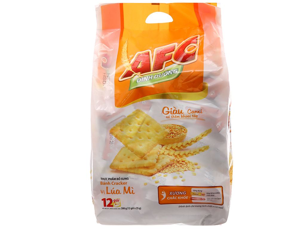 Bánh quy Lúa mì AFC Dinh dưỡng 300g 2