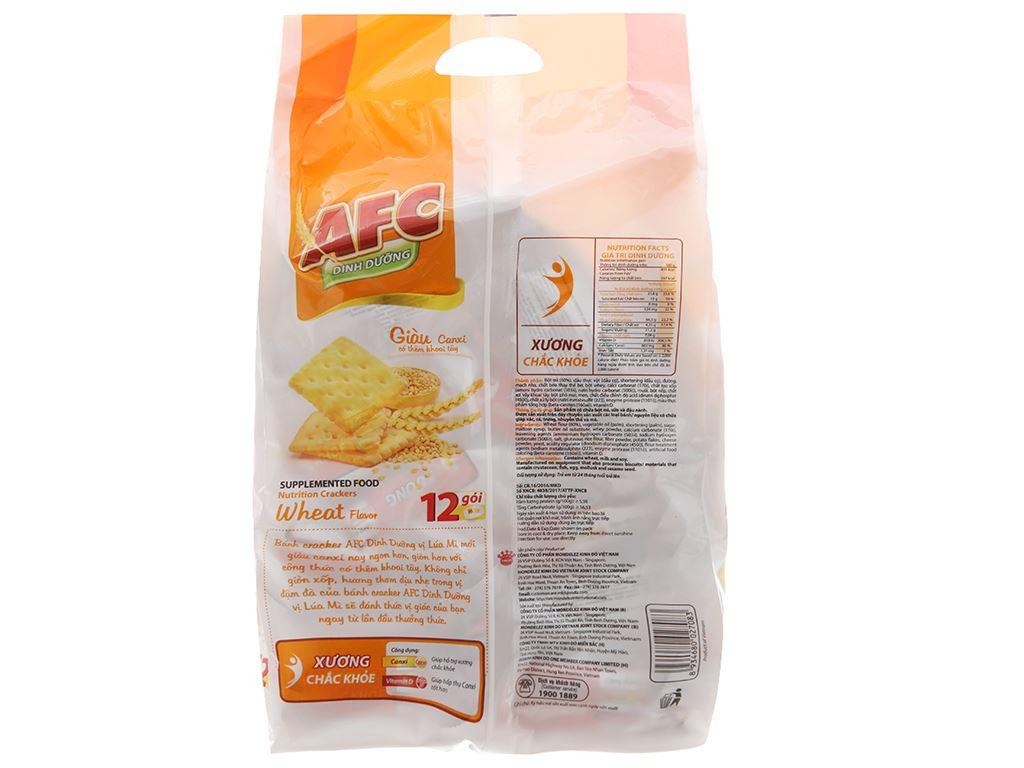 Bánh quy Lúa mì AFC Dinh dưỡng 300g 3