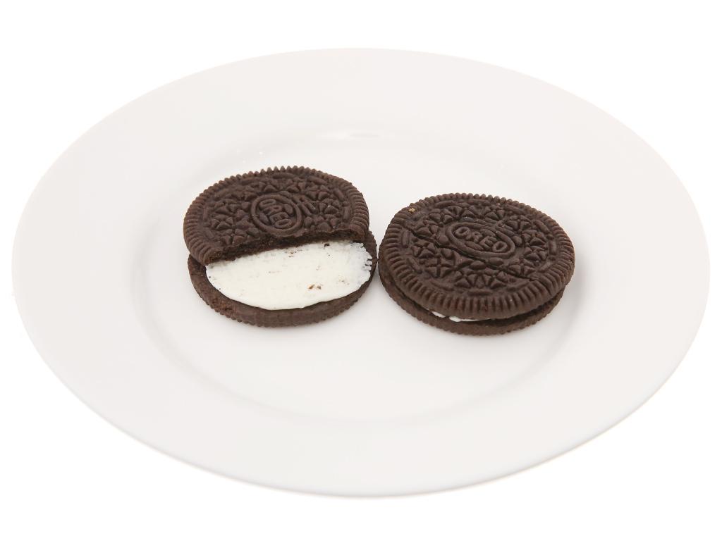 Bánh quy Nhân kem hương vani Oreo 205.8g 4