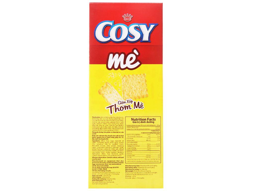 Bánh quy mè Cosy hộp 54g 2