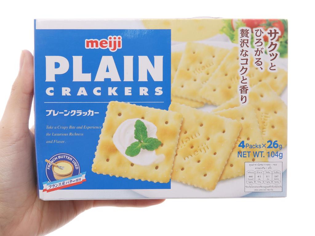 Bánh quy Bơ Meiji Plain 104g 4