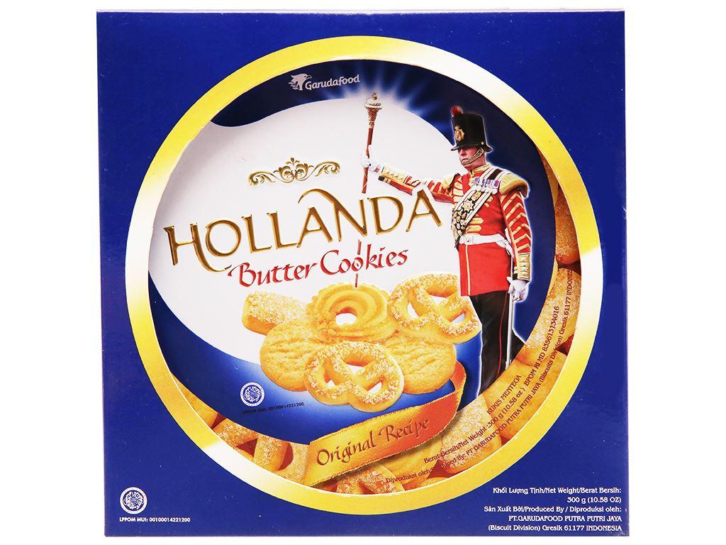 Bánh quy bơ Hollanda GarudaFood hộp 300g 1
