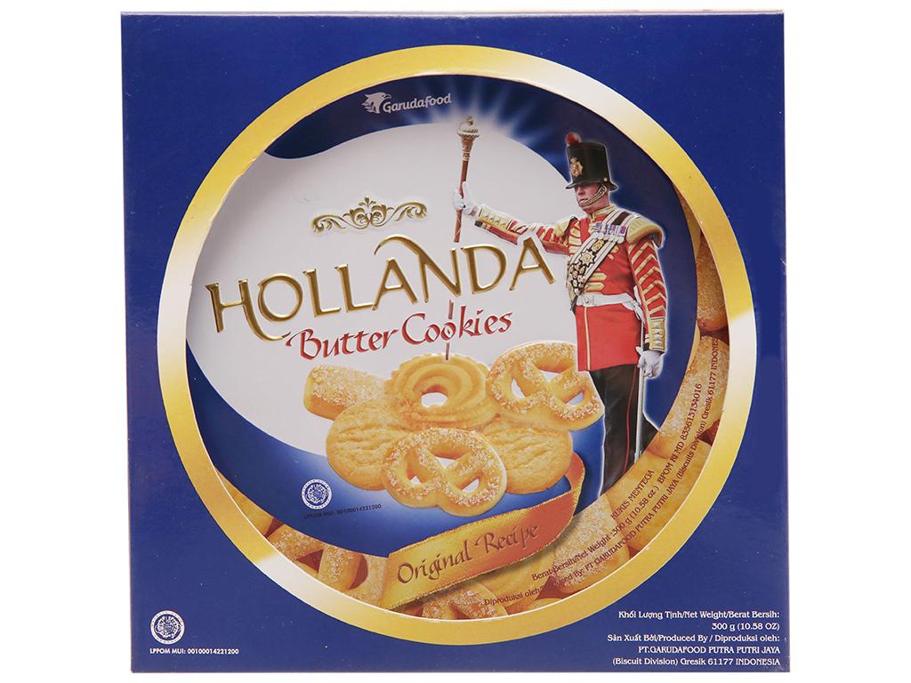 Bánh quy bơ GarudaFood Hollanda hộp 300g 2