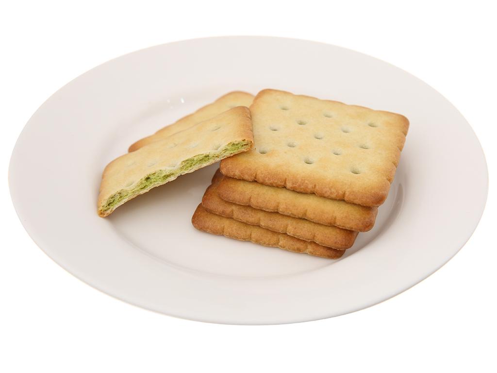 Bánh quy dinh dưỡng nhân trà xanh AFC hộp 288g 5