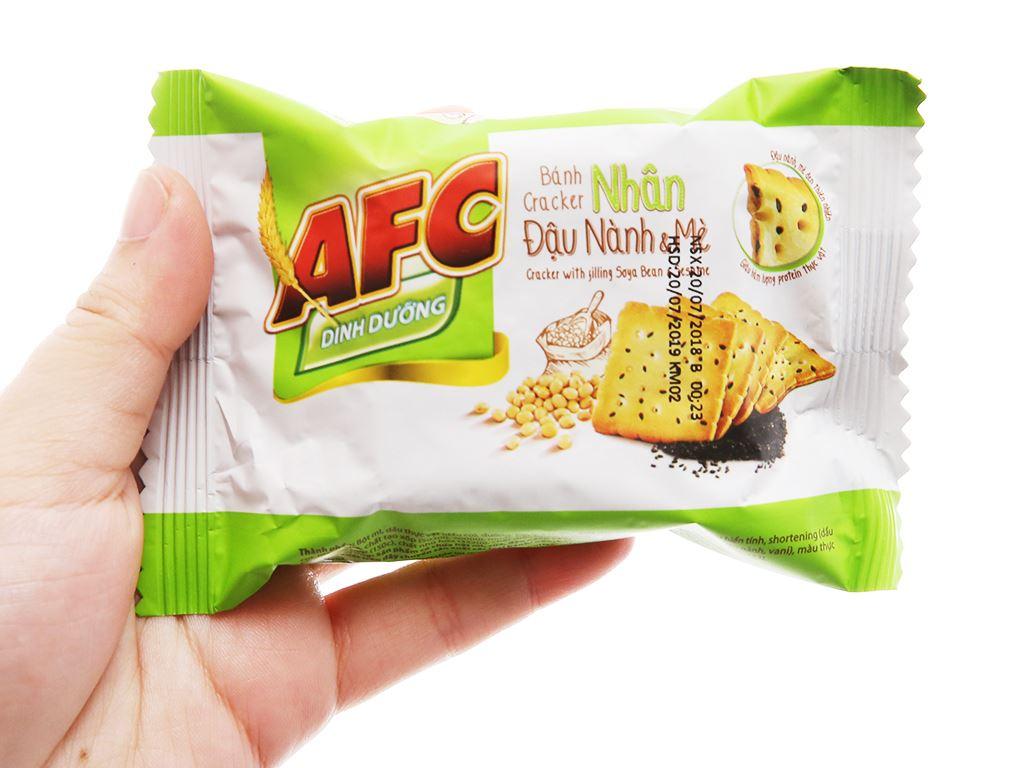 Bánh quy nhân đậu nành và mè AFC Dinh Dưỡng hộp 336g 4