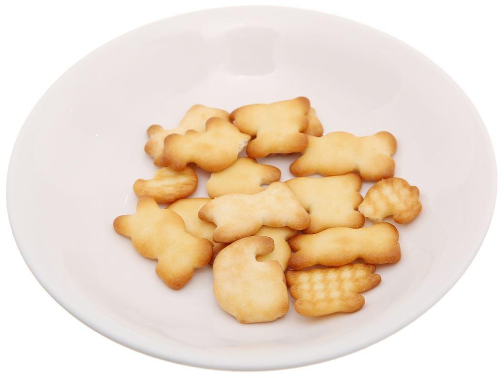 Bánh quy sữa hình thú Kinh Đô Kaiyo hộp 150g 4