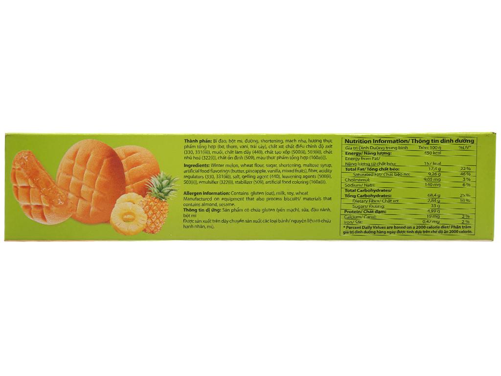 Bánh quy vị thơm nhân mứt Cosy hộp 240g 2
