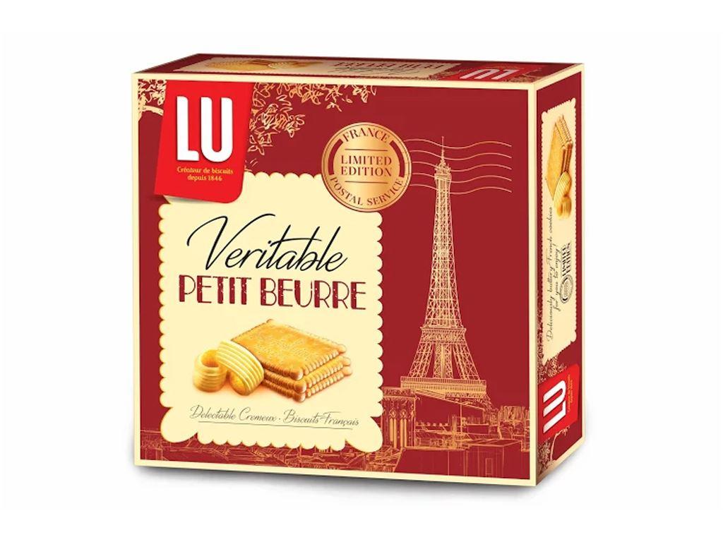 Bánh quy LU Veritable Petit Beurre hộp 600g 1
