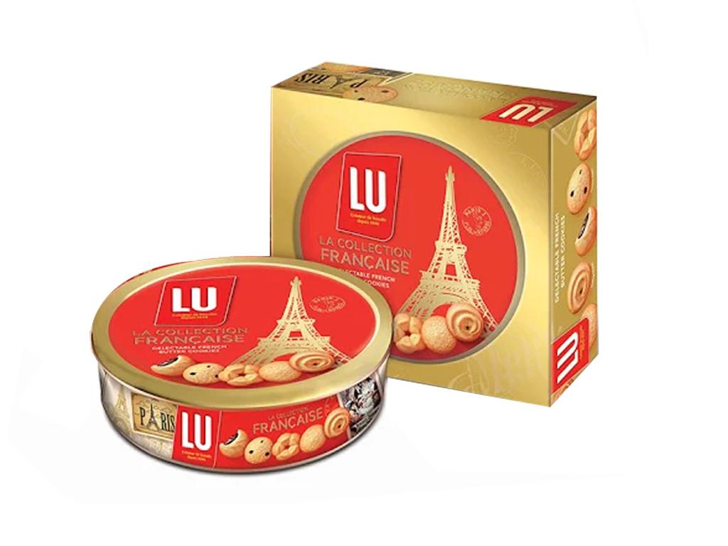 Bánh quy Bơ Pháp LU La Collection Francaise 726g 2