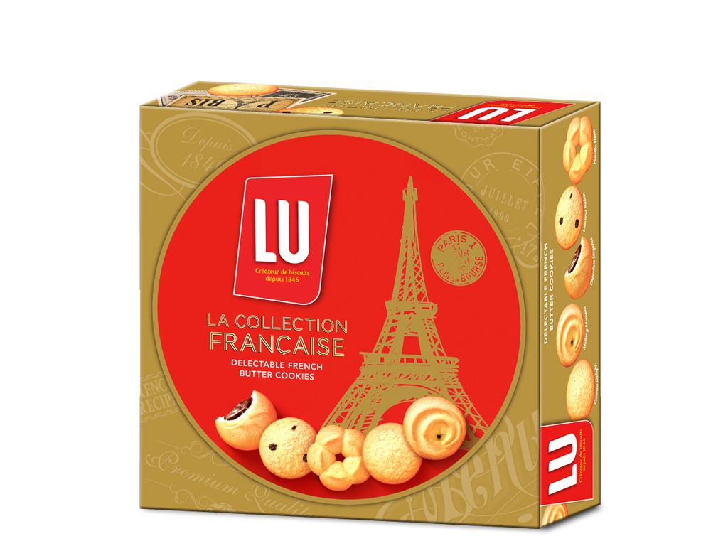 Bánh quy Bơ Pháp LU La Collection Francaise 726g 3