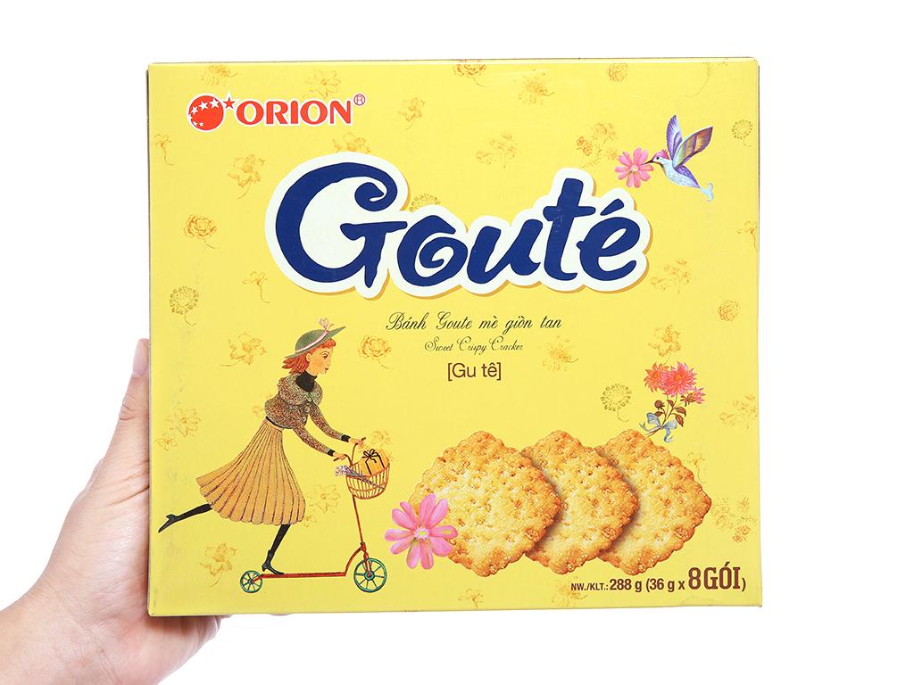 Bánh quy Gouté mè 288g 3