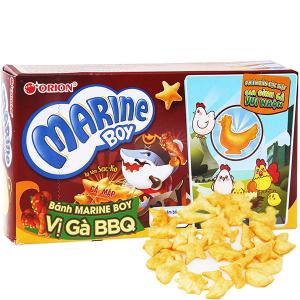 Bánh cá vị gà BBQ Orion Marine Boy hộp 35g