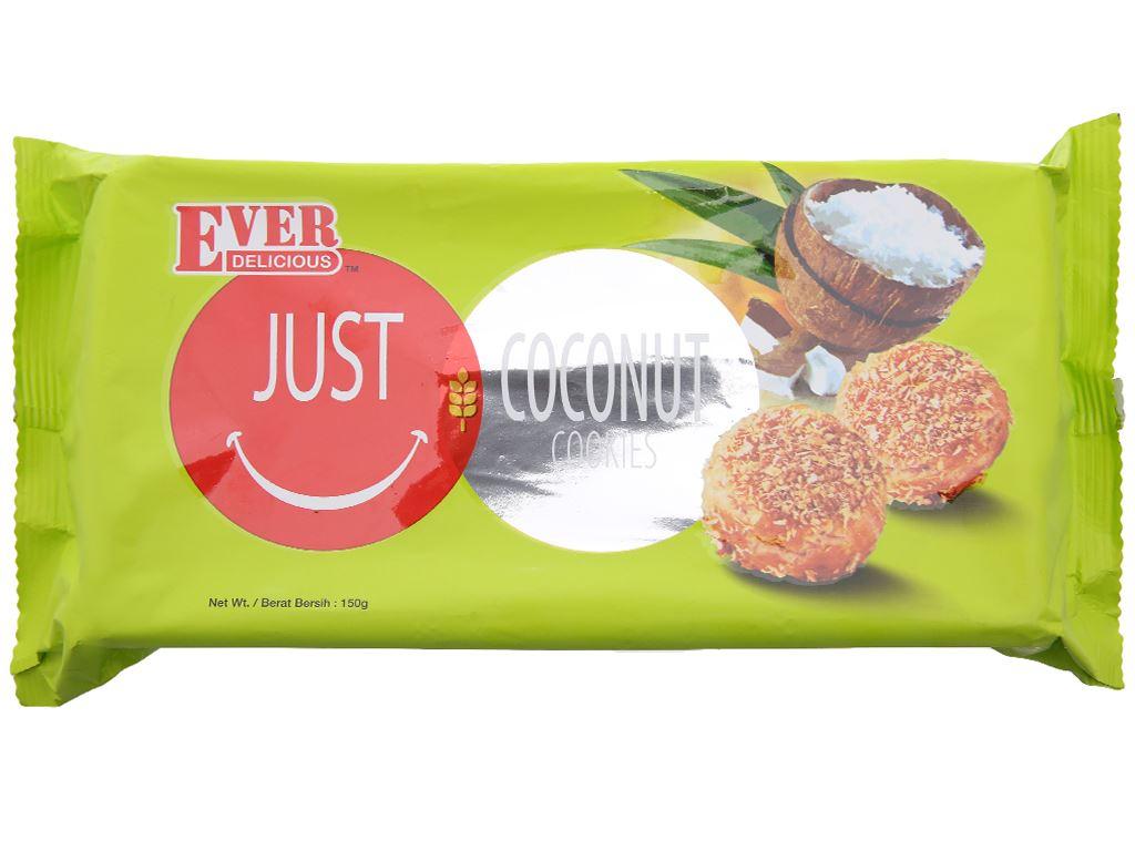 Bánh quy dừa Just Ever Delicious gói 150g 2