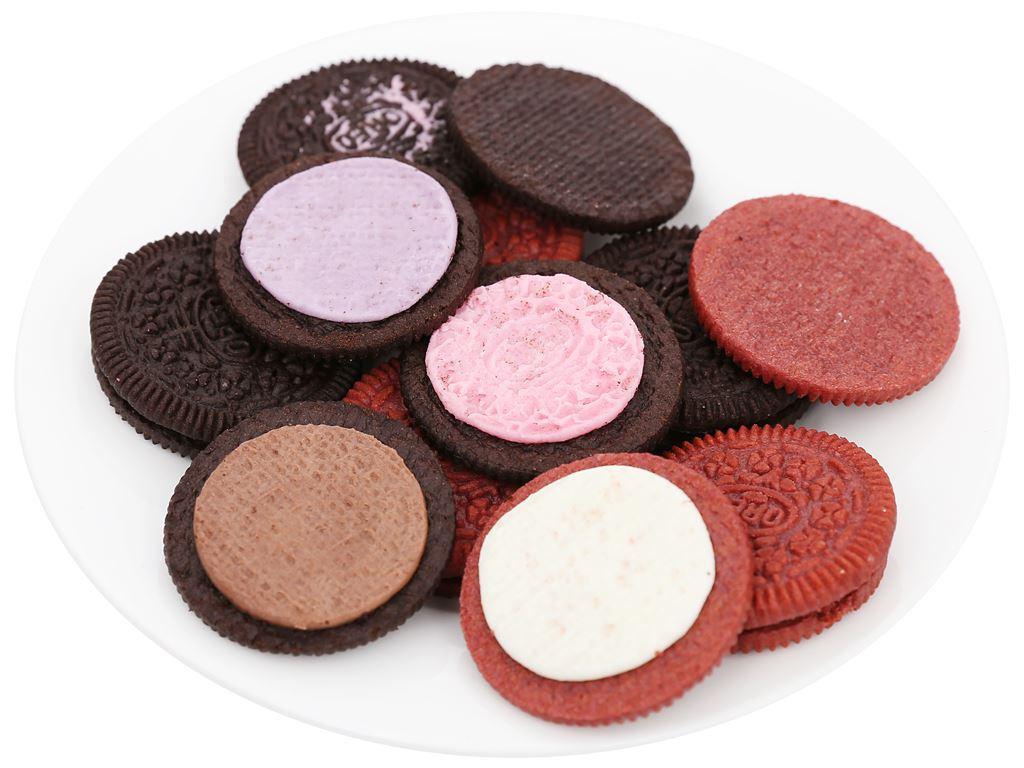 Bánh quy 4 loại nhân kem Oreo hộp 352.8g 7