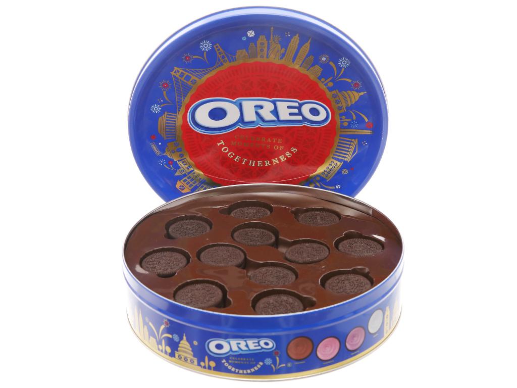 Bánh quy Cacao 4 loại nhân Oreo 352.8g 2