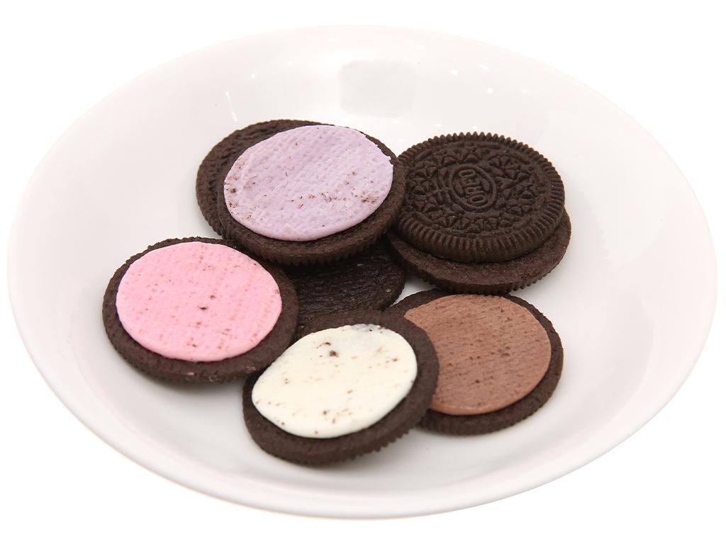 Bánh quy Cacao 4 loại nhân Oreo 352.8g 4