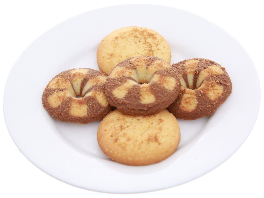 Bánh quy bơ cacao Tipo Cookies hộp 380g 4