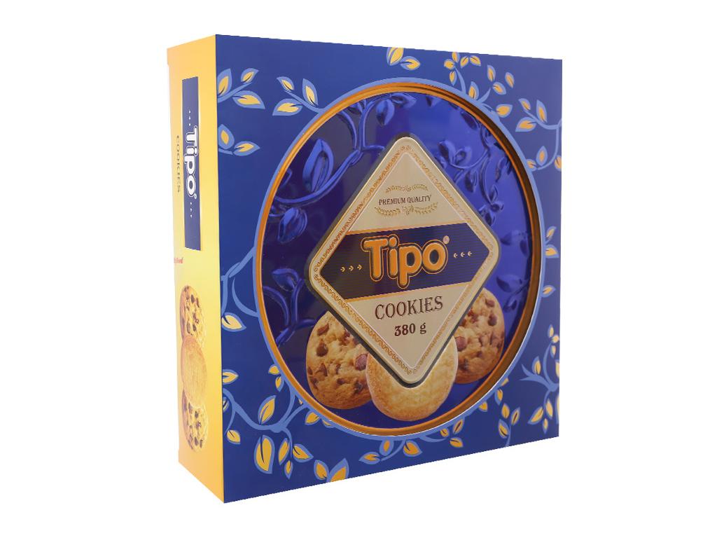 Bánh quy ngọt Tipo Cookies bơ và cacao 360g 2