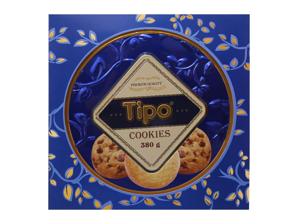 Bánh quy ngọt Tipo Cookies bơ và cacao 360g 3