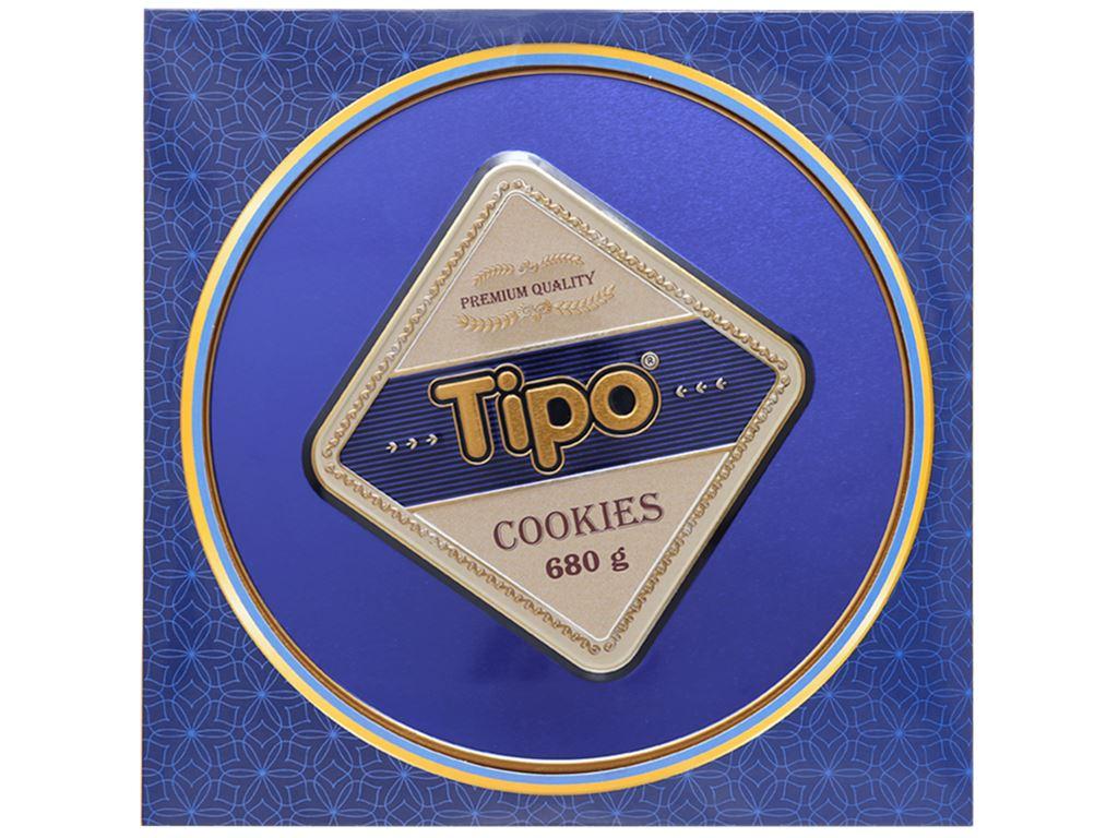 Bánh quy thập cẩm Tipo hộp 680g 5
