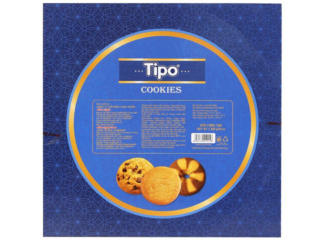 Bánh quy thập cẩm Tipo hộp 680g 6
