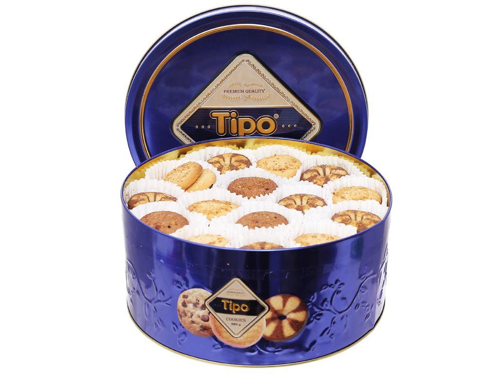 Bánh quy thập cẩm Tipo hộp 680g 7