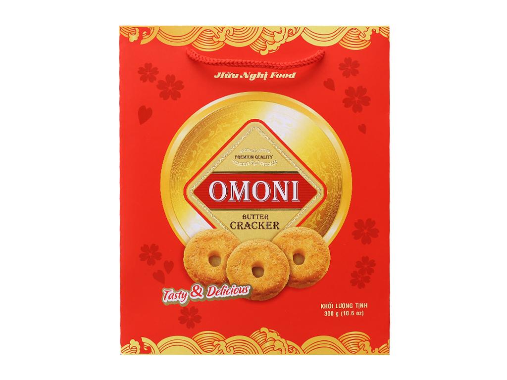 Bánh quy Bơ Omoni Cracker 300g 3