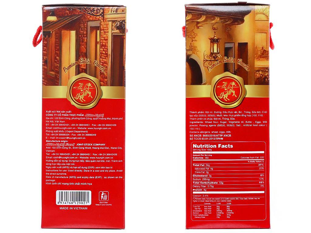 Bánh quy bơ Omoni Cracker hộp 300g 2