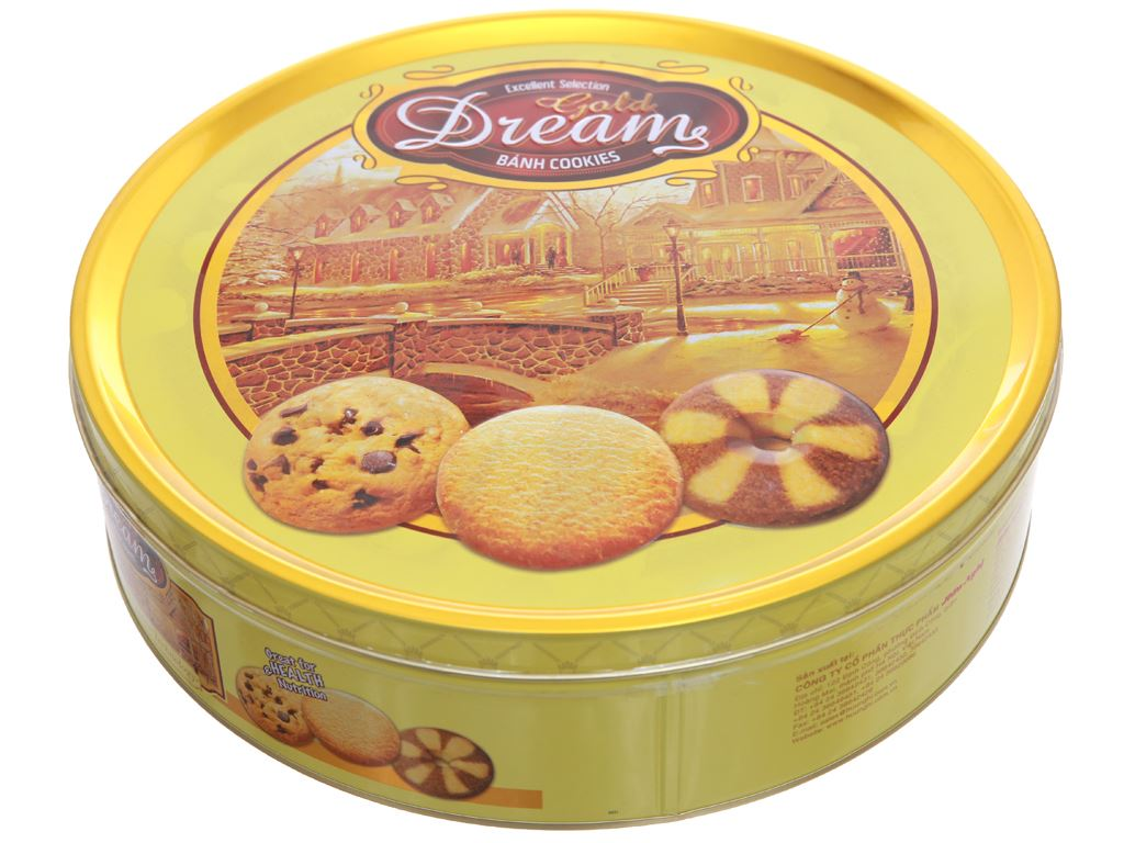Bánh quy Gold Dreams hộp 400g 2
