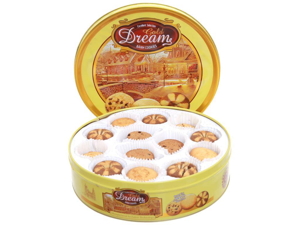 Bánh quy Gold Dreams hộp 400g 3