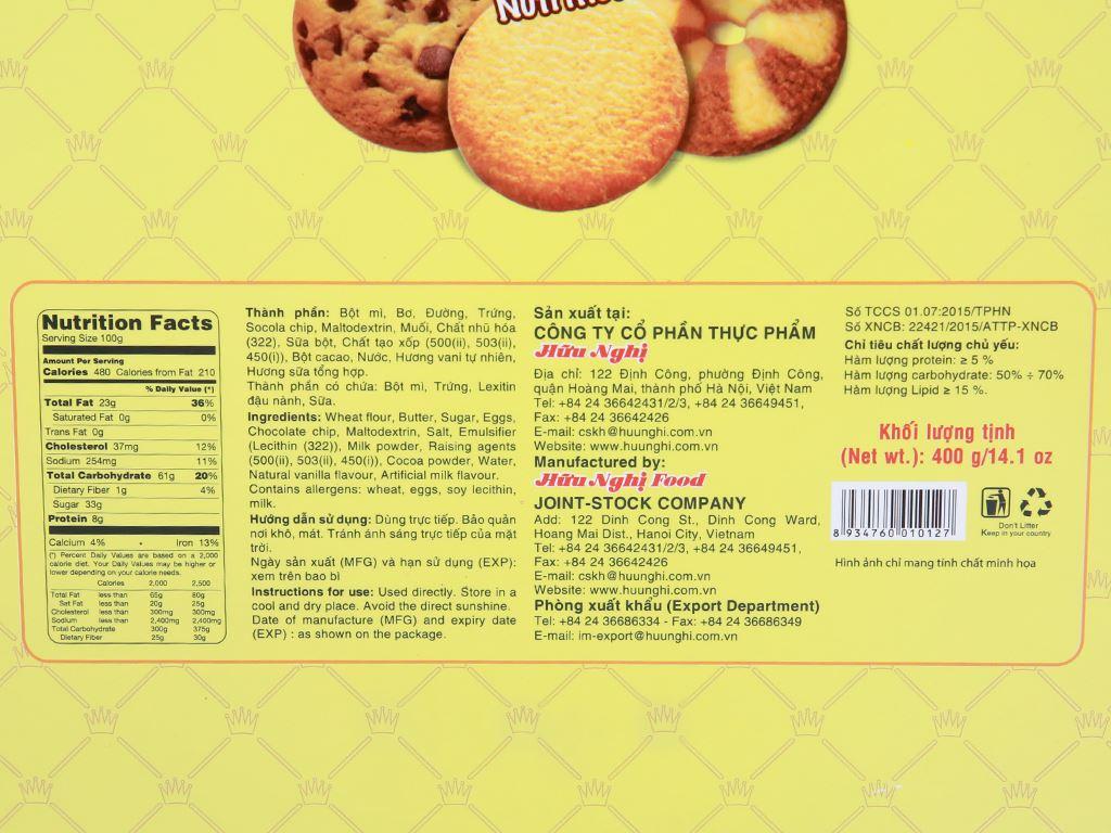 Bánh quy Gold Dreams hộp 400g 5