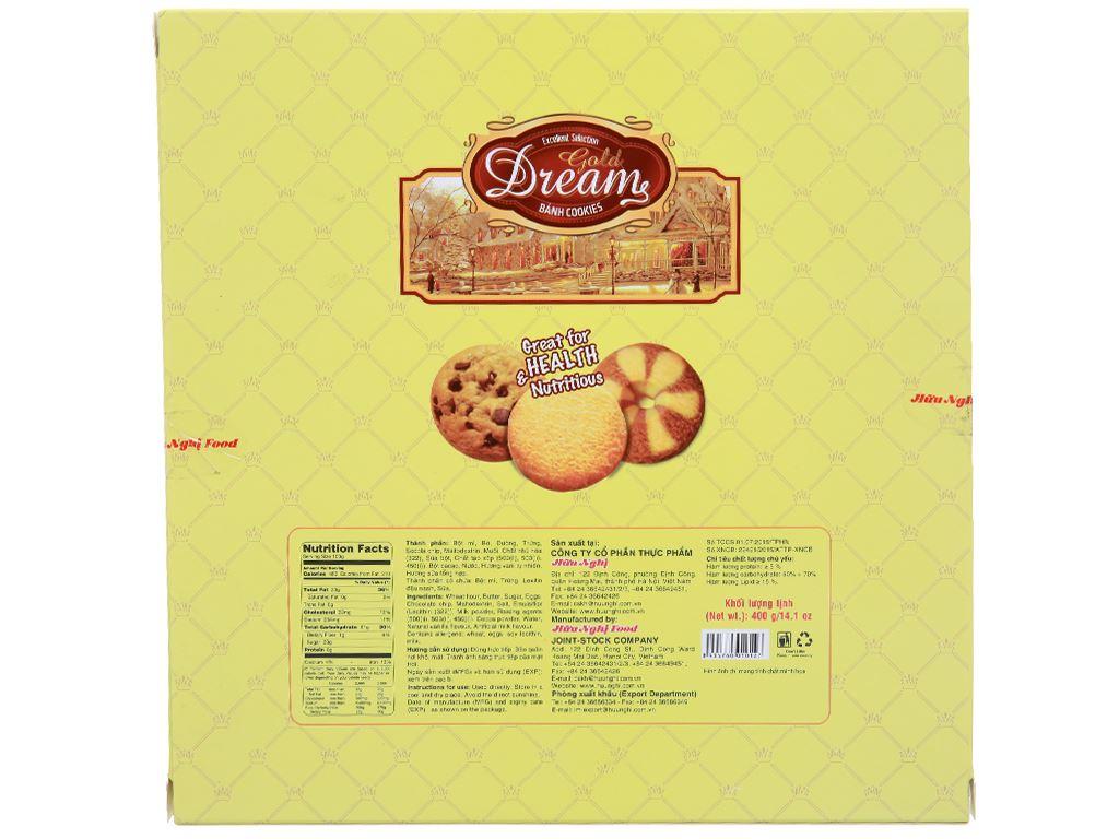 Bánh quy Gold Dreams hộp 400g 6