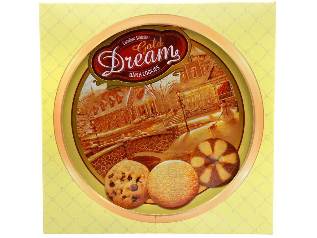 Bánh quy Gold Dreams hộp 400g 7