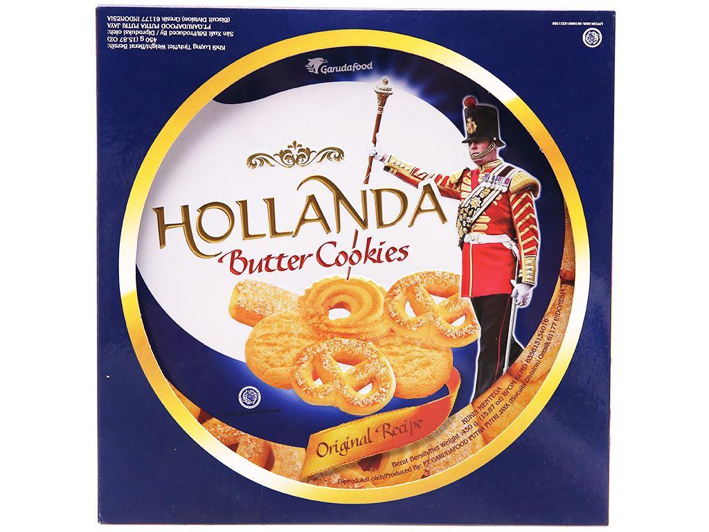 Bánh quy bơ Hollanda GarudaFood hộp 450g 1