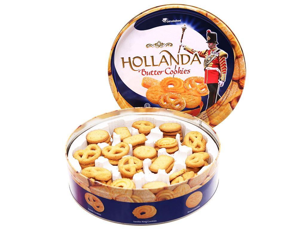 Bánh quy bơ Hollanda GarudaFood hộp 450g 3
